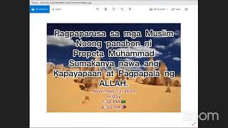 Pagpaparusa sa mga Muslim