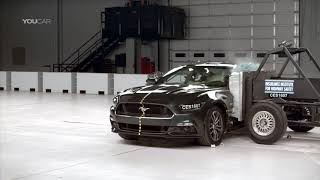 Best Cars:  Crash Tests 2016 American Muscle Car - Mustang, Camaro & Challenger