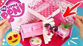 как сделать домик для Пони My Little Pony
