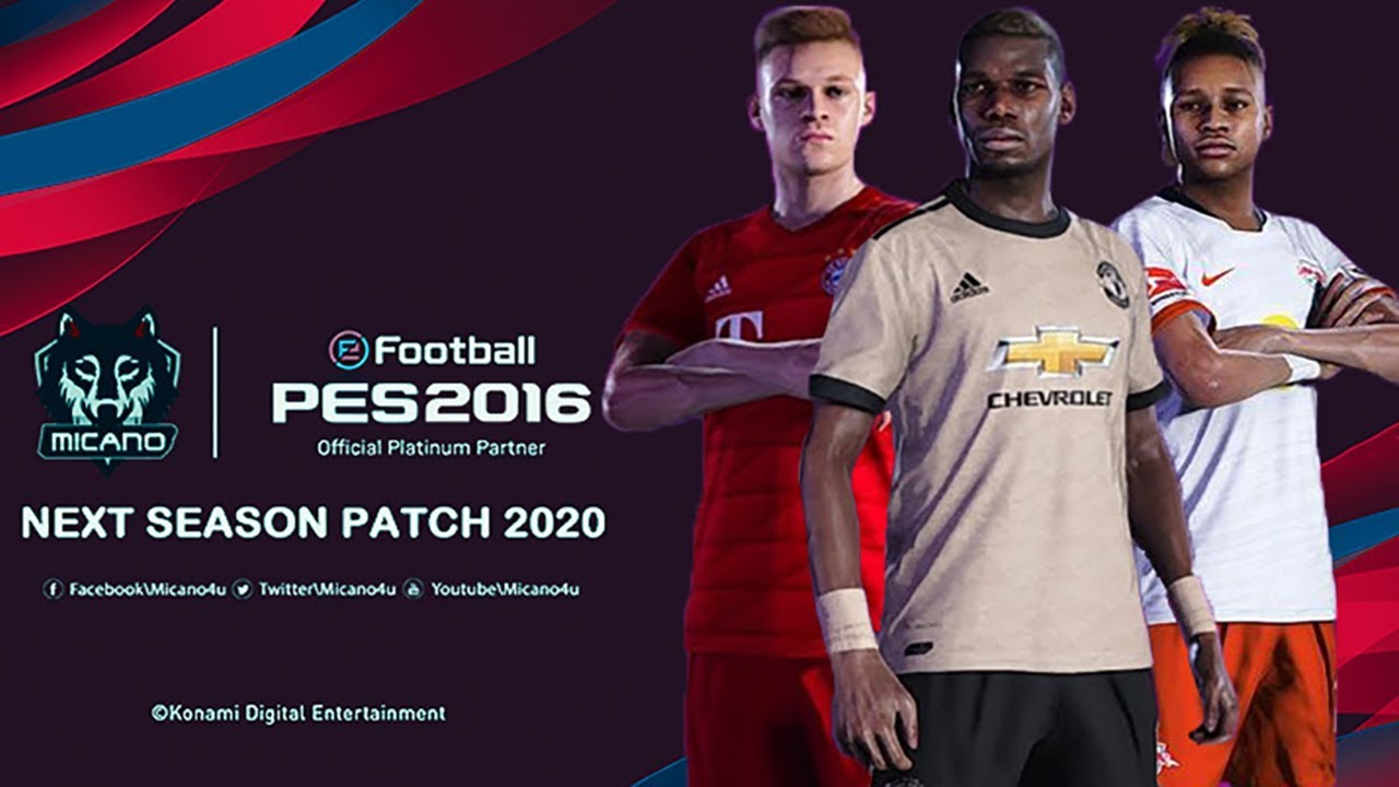 pes 2016 patch 2019 free download