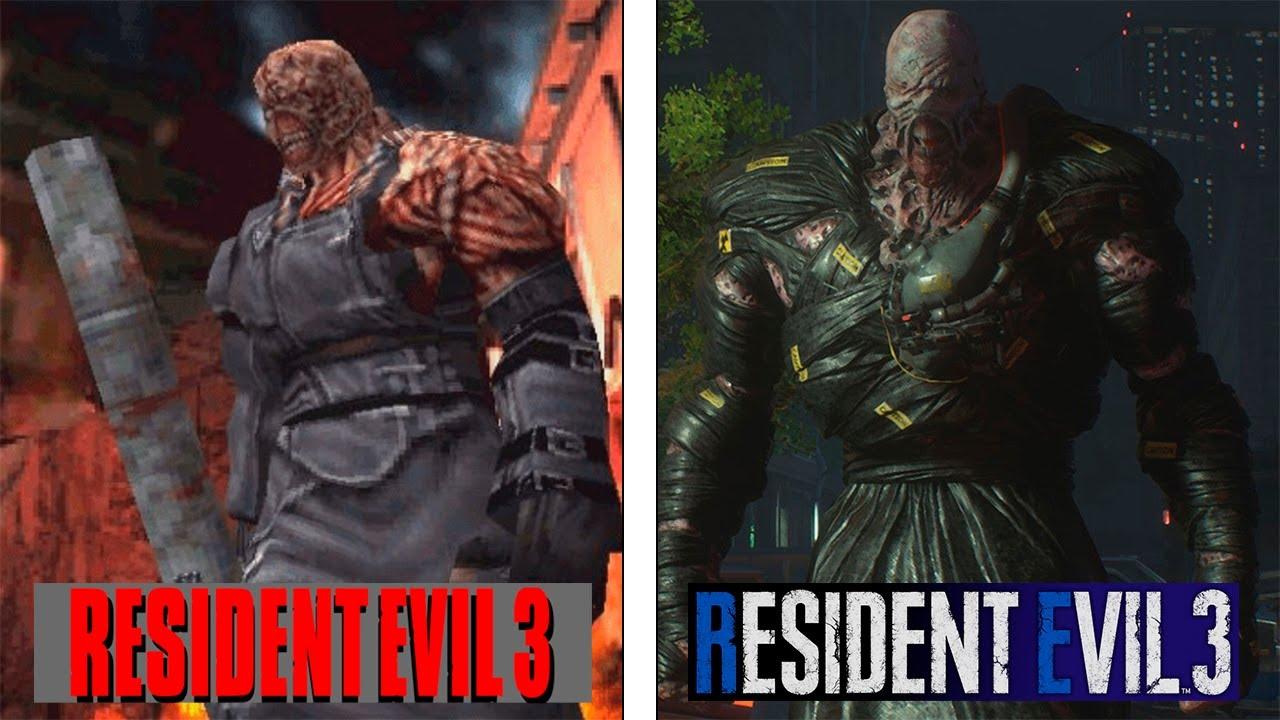 Resident Evil 3 Original Vs Remake Final Version Comparison
