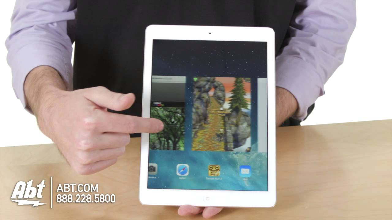 Apple IPad Air Lighter Faster Thinner From ATT YouTube - Abt ipad