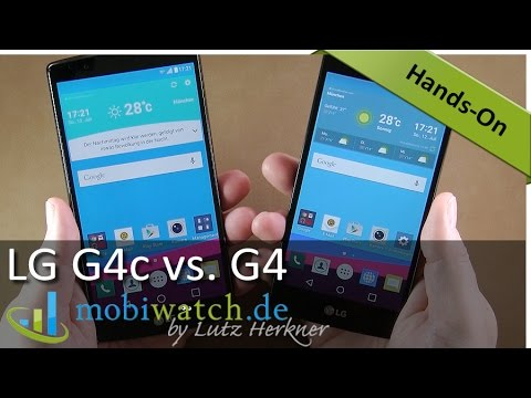 LG G4c: Darin unterscheidet sich der Discounter vom G4 – Video-Test | deutsch