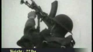 WW2 Bren light machine gun