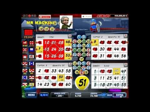 LUCKY HERO como jugar y ganar bingo electronico (SECRETOS) CASINO $$$