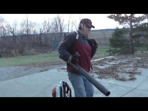 Leaf Blower Comparison Featuring Stihl & Redmax Backpacks