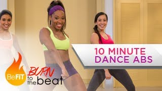 Video 10 Minute Cardio Dance Abs Workout: Burn to the Beat- Keaira LaShae download MP3, 3GP, MP4, WEBM, AVI, FLV Juli 2018