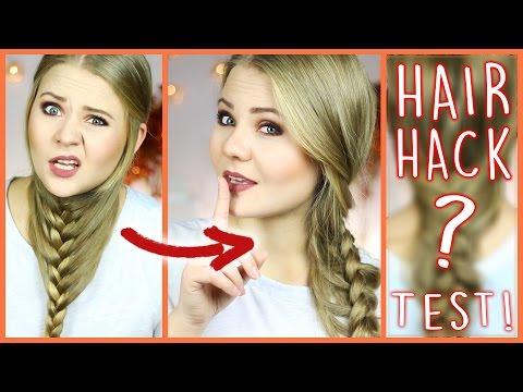 CRAZY 2-MINUTE HAIR HACK? - Live Test!
