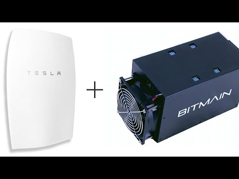 Tesla Power + Bitcoin Power
