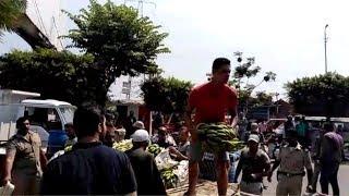 مرافق الدقهلية تزيل ثاني سوق عشوائي في المحافظة خلال 24 ساعة