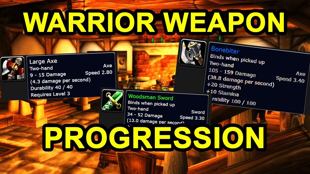 wow classic warrior leveling guide