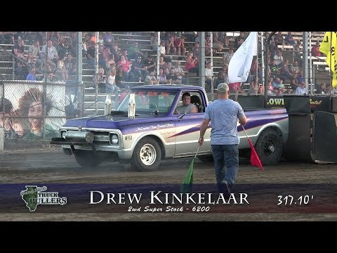 Central Illinois Truck Pullers - 2017 Christian County Fair - Taylorville, IL Truck Pulls