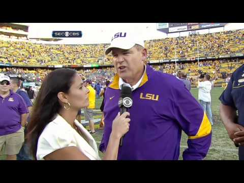 College Football - LSU on Dominant Win Over Florida