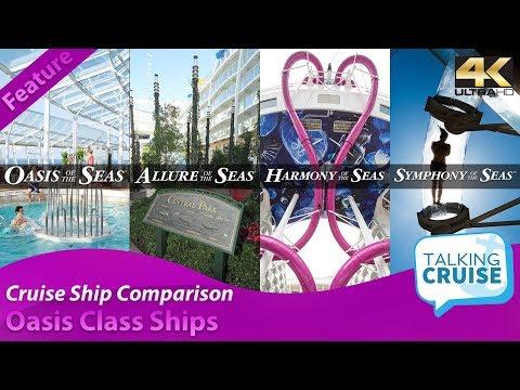 Oasis Class Cruise Ships - Cruise Ship Comparison