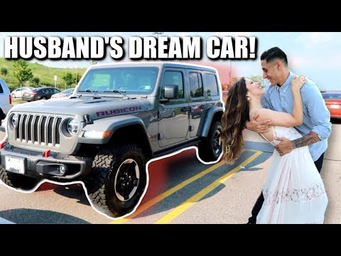 BUYING MY HUSBAND HIS DREAM CAR!