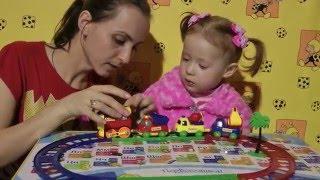 Відео для Дітей-Розпакування Паровозик ''Ну, постривай!-Іграшки для дітей