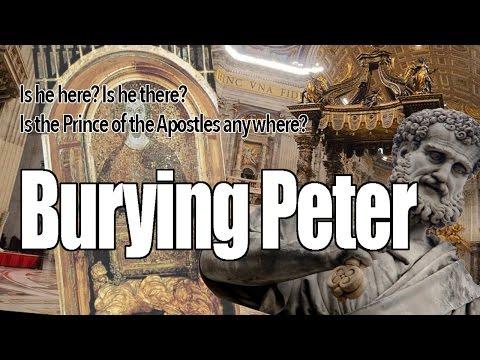 Burying Peter!