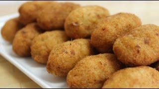 Guyanese Salt Fish Cakes & Gravy