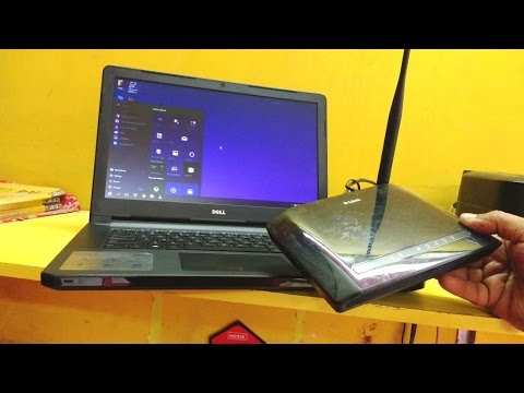 How to Setup D-Link Wi-fi Router for Laptop (Wi-fi without cable)