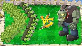 Plants vs Zombies Minigames - 9999 Melon Pult vs 9999 Gatling Pea vs Dr. Zomboss