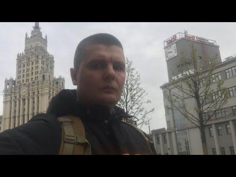 Москва во время карантина,Одни  Московские Бомжи,?