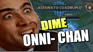 DIME ONII CHAN Y TE HAGO UNA CUADRA QUILL !