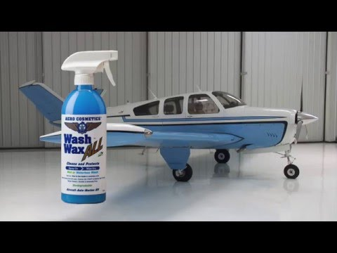 Aircraft Waterless Wash- How to clean an aircraft