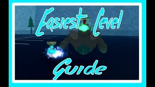 EASIEST LEVEL GUIDE ON ESPER ONLINE | Roblox