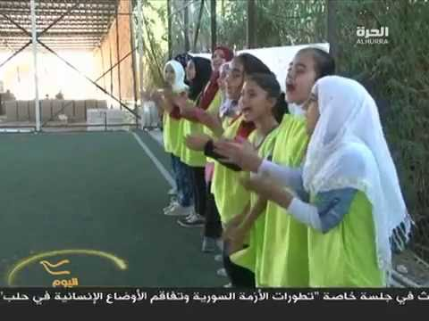 Syrian girls play soccer for peace in north lebanon