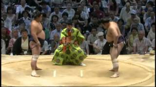栃煌山悔しそう sumo myogiryu tochiozan.