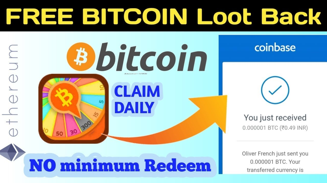 coinbase free bitcoin