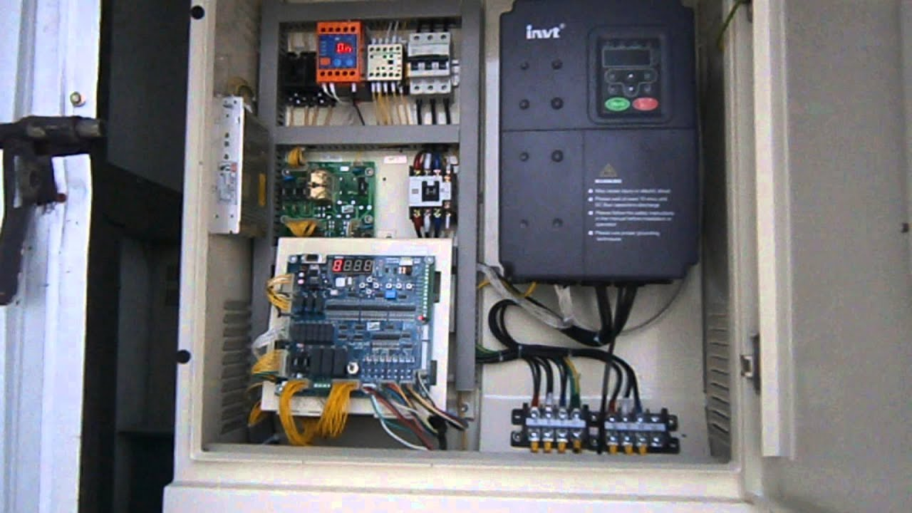 Gencom Elevator Controller By Yunli And Invt Inverter In