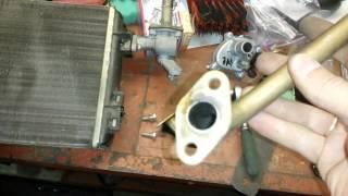 видео радиатор печки ваз 2107