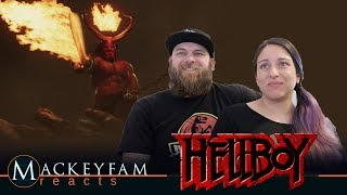 "Hellboy (2019 Movie) New Trailer ""Red Band""- REACTION and REVIEW!!!"