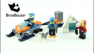 LEGO CITY 60191 Arctic Exploration Team Speed Build for Collecrors - Collection Arctic (11/18)