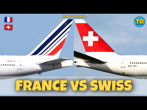 Air France VS Swiss International Airlines Comparison 2020! 🇫🇷 vs 🇨🇭