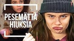 HIUSTENPESEMISKIELTO   Emma ja Milla testaa