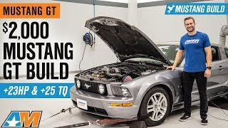 $2,000 S197 Mustang GT Budget Build | Stock 2006 S197 Transformation!