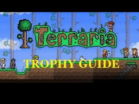 BLACKSMITH AND I'M SMELTING TROPHY GUIDE FOR TERRARIA