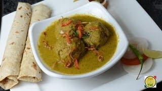 Meatball Curry - Kheema Che Andey  - By Vahchef @ Vahrehvah.com