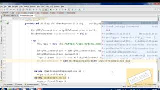 Android JSON Listview (Data parsing | Android | bangla)