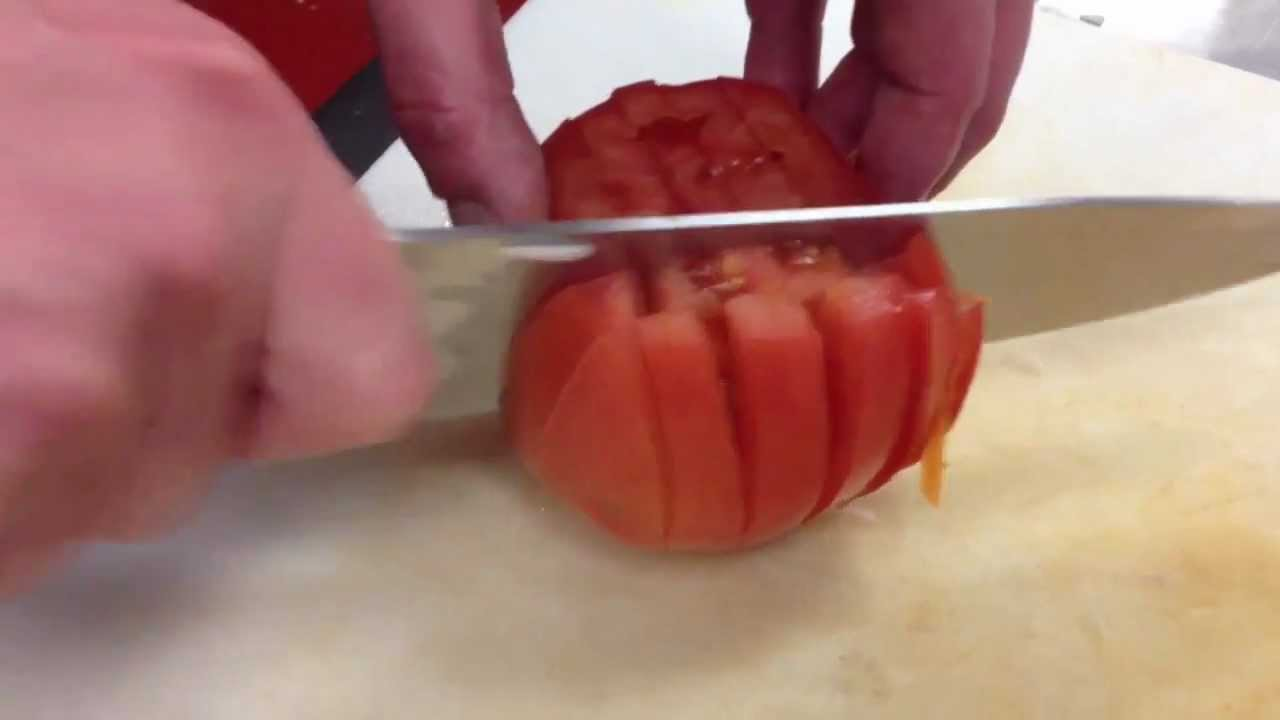 How to cut tomatoes 38