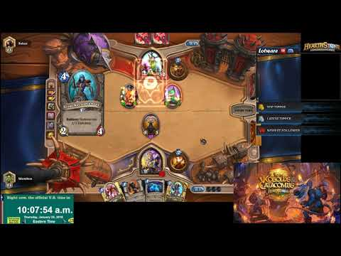 Hs r jan asia lose vs aggro druid at r youtube