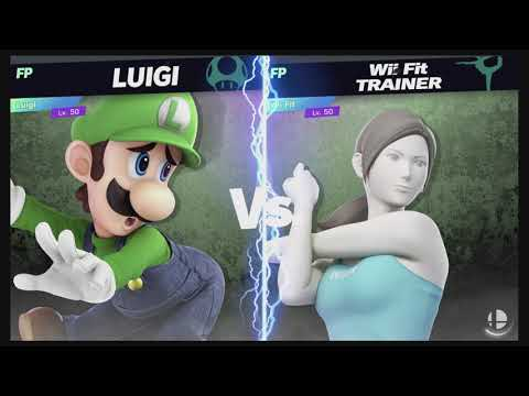 Super Smash Bros Ultimate Amiibo Fights – 5pm Poll Luigi vs Wii Fit