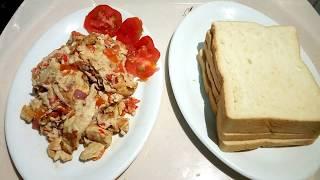 Masaka Egg and Bread (Break fast Show)