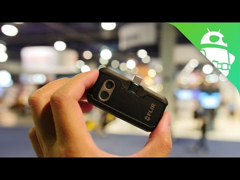 Hands-on: Flir One thermal camera gives your phone superpowers