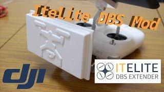 DJI Phantom 3S Itelite DBS antenna mod unbox & install