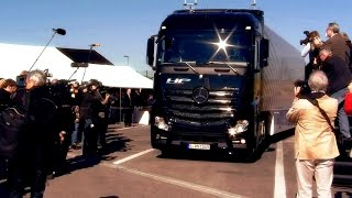 Mercedes-Benz TV: Testing of the first series-production autonomous truck on public roads.