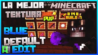 La Mejor Textura Para UHC  Minecraft PE 0.14.0 (POCKET EDITION) - BlueDefaultEdit - Epic