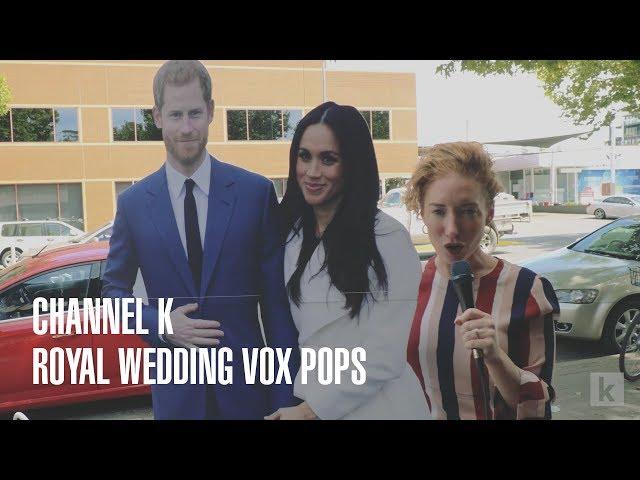 Royal Wedding Vox Pops on Lonsdale Street - Channel K